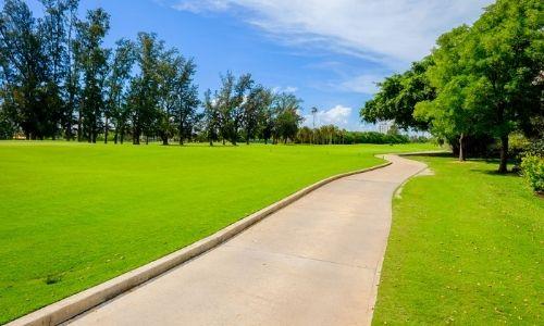 golf cart cart path
