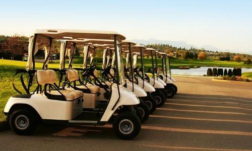 golf cart washing
